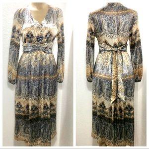 Isabella Bird silk retro style dress